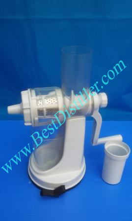 JJ masticating manual juicer