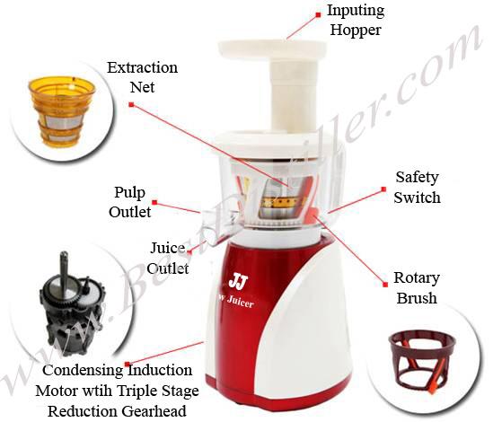 Slow Juicer Vs High Speed Juicer : The Best Masticating Slow Juicer